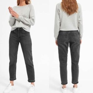 Everlane The Relaxed Boyfriend Jeans Washed Black
